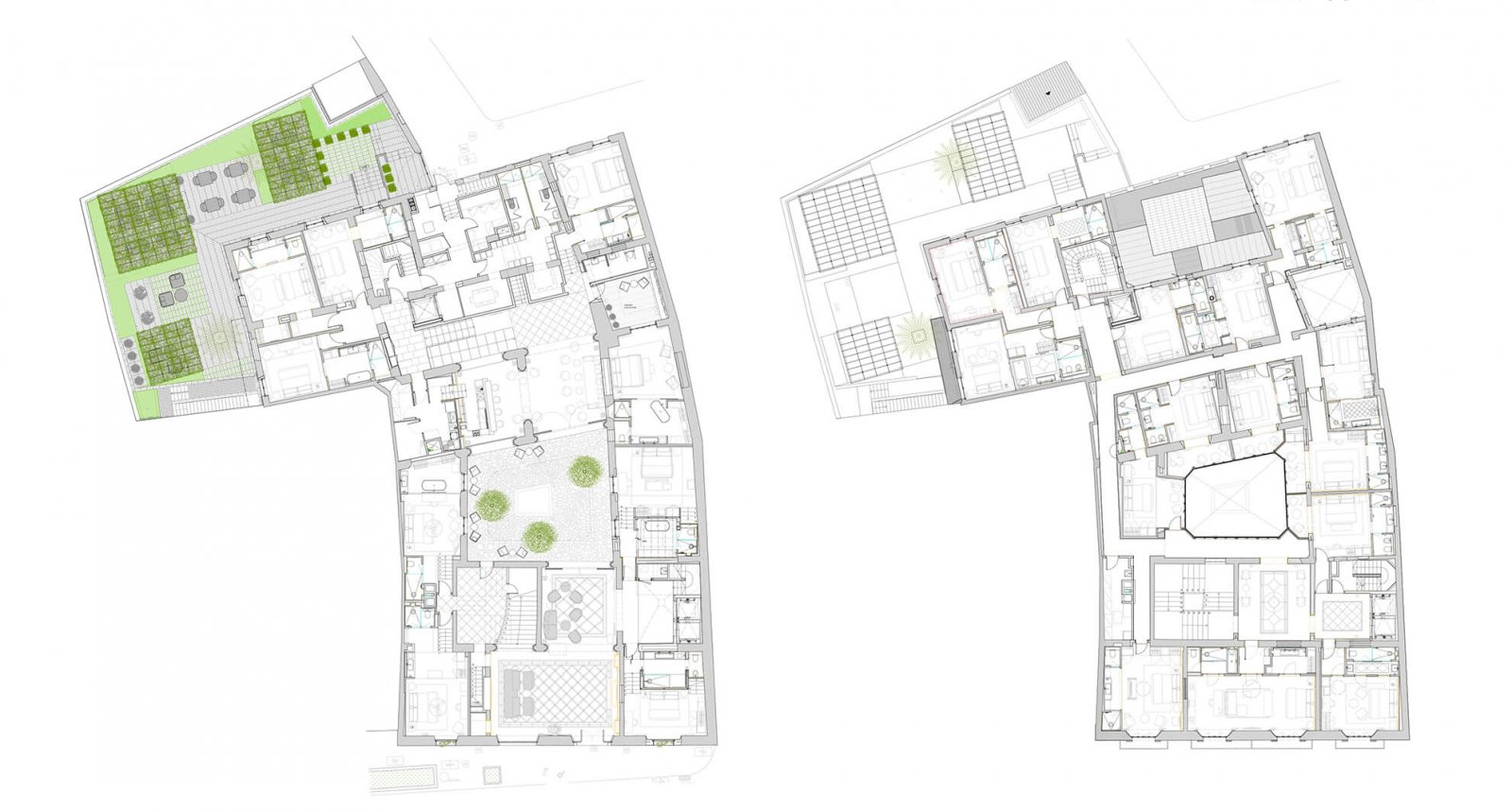 Map of the situation of Sant Francesc Hotel Boutique