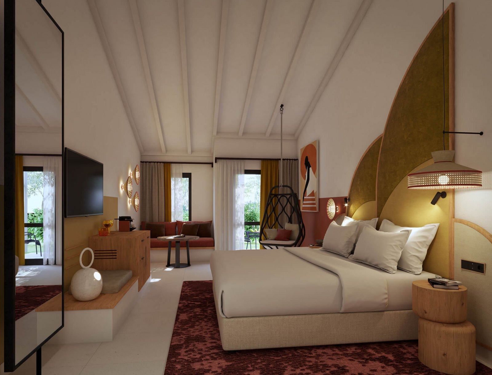 View of the room of the Sotogrande