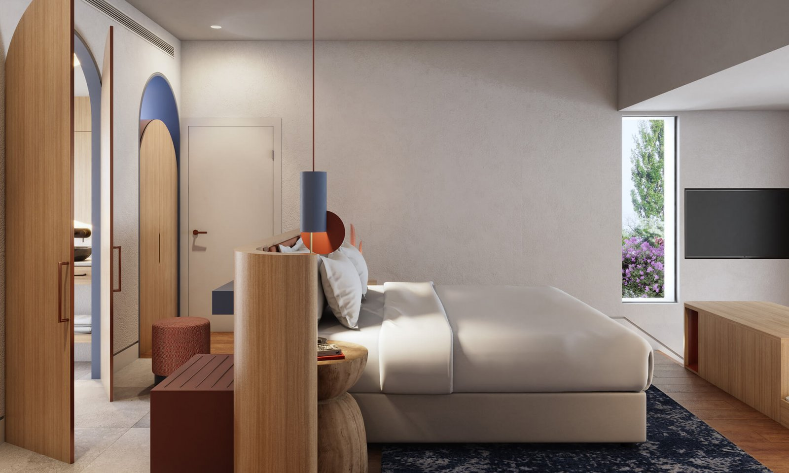Another view of the room of the Sotogrande
